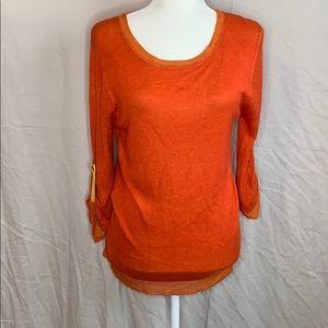 Annabella Burnt Orange Top